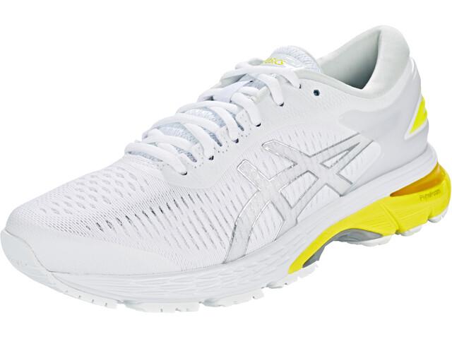 asics Gel-Kayano 25 Shoes Women White/Lemon Spark